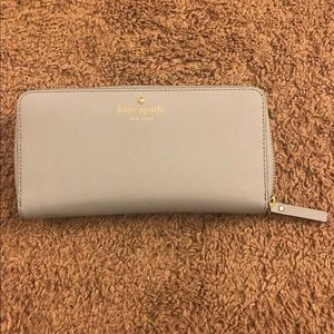 Like new kate spade wallet light blue